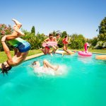 Canada day pool party tips from Cannonball Pools