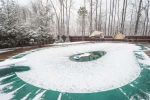 Pool Winter Safety Cover